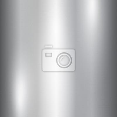 Fototapeta Wektor folia srebrny metalik tekstury z błyszczącą powierzchnię porysowany, polerowane imitacja tła. Szczotkowana powierzchnia ze stali szczotkowanej. Lód, zimny motyw projektowania ilustracji do wydr