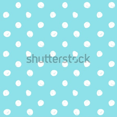 Fototapeta Wektor piękny wzór kropki. Niebieskie tło.