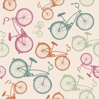 Fototapeta wektor rower tekstury, tła hipster