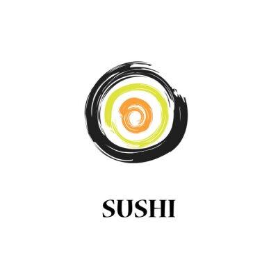Fototapeta Wektor sushi