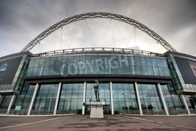 Fototapeta Wembley Stadium. Home of the England national football team.