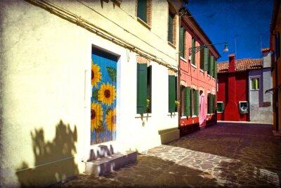 Fototapeta Wenecja, Burano
