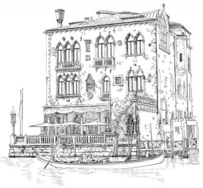 Fototapeta Wenecja - Canal Grande.