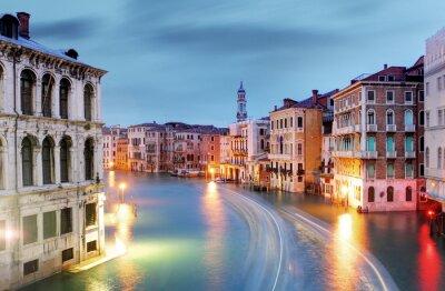 Fototapeta Wenecja - Canal Grande od mostu Rialto