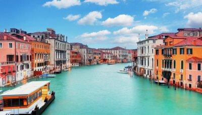 Fototapeta Wenecja od Mostu Accademia