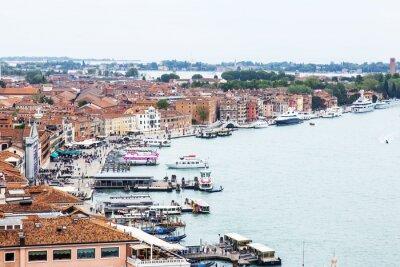 Fototapeta Wenecja, Włochy. Widok z góry z San Marco kampanilla