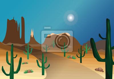 Western Desert sceny