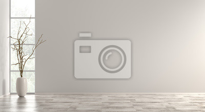 Fototapeta Wewnętrzny tło 3d odpłaca się