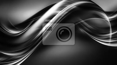 Fototapeta White and black