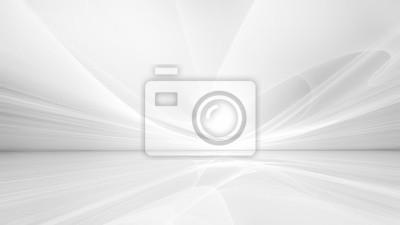 Fototapeta white futuristic background