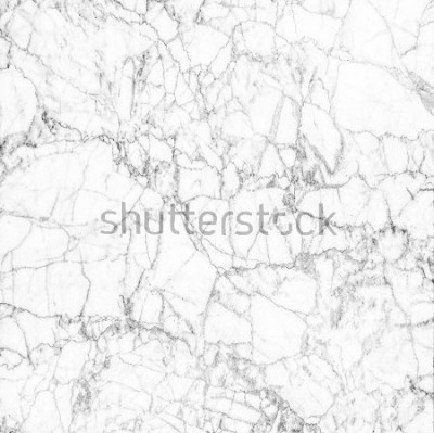 Fototapeta White marble texture abstract background pattern