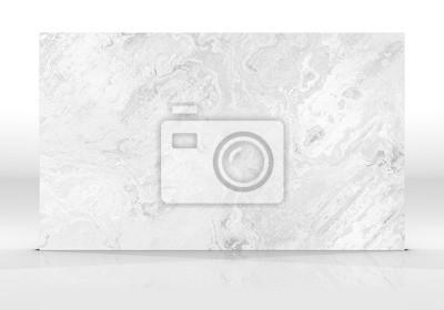 Fototapeta White marble Tile texture