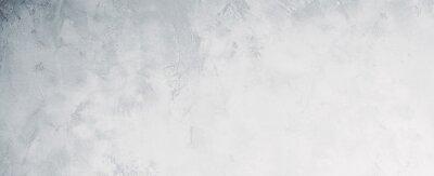 Fototapeta White or light gray concrete wall texture background