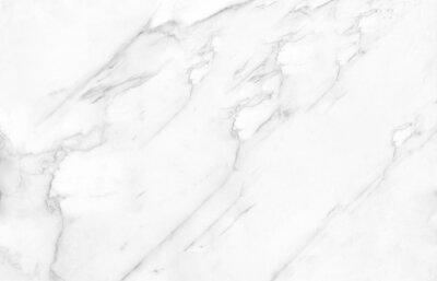 Fototapeta white satvario marble. texture of white Faux marble.  calacatta glossy marbel with grey streaks. Thassos statuarietto tiles. Portoro texture of stone.  Like emperador and travertino marbelling.