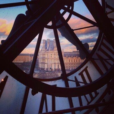 Fototapeta widok na Paryż z muzeum d'Orsay