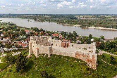 Fototapeta Widok na starym mieście w Kazimierzu Dolnym nad Wisłą