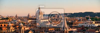 Fototapeta Widok Rzym dachu