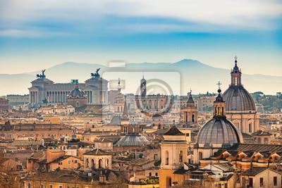 Fototapeta Widok Rzymu z Castel Sant'Angelo