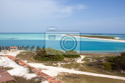 Fototapeta Widok z Fort Jefferson