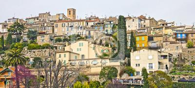 Widok z Francji, południowej Francji
