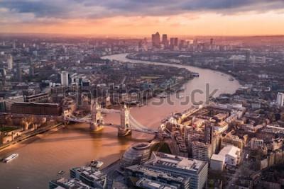 Fototapeta widok z góry na miasto