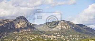 Widok z góry w Prowansji, Francja