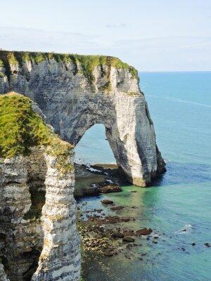 Fototapeta Widok z klifu z łuku na wybrzeżu kanału La Manche