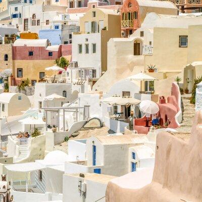 Fototapeta Widok z Oia na Santorini