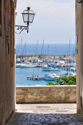 Fototapeta Widok z Otranto. Puglia. Włochy.