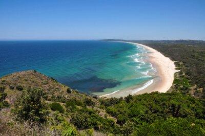 Fototapeta Widok z plaży w Byron Bay, Australia