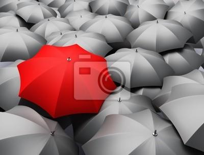 wiele parasoli