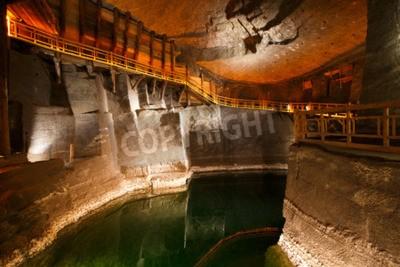 Fototapeta Wieliczka salt mine near Krakow in Poland.