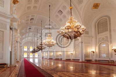 Fototapeta Wielki Kremlin Palace, Georgievsky hali