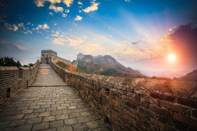 Fototapeta Wielki Mur w blasku słońca