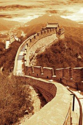 Fototapeta Wielki Mur w Pekinie, Chiny
