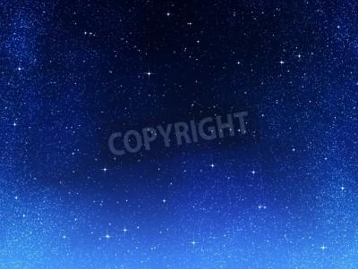 Fototapeta wielki obraz przestrzeni lub nocne niebo gwiaździste