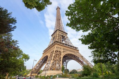 Fototapeta Wieża Eiffla w Paryżu, Francja
