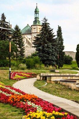 Fototapeta Wieża Pałacu Biskupa `s w Kielcach.