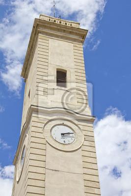 Wieża zegarowa w Nimes, Francja