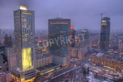 Fototapeta Wieżowce w Warszawie