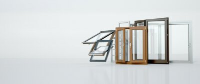 Fototapeta Window selection