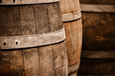 Fototapeta Wine barrel