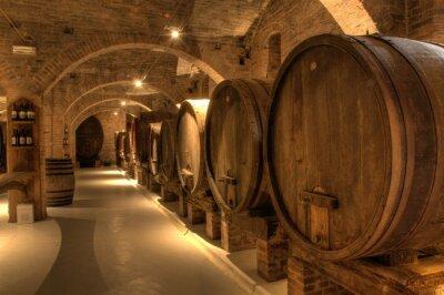 Fototapeta Winiarnia w opactwie Monte Oliveto Maggiore