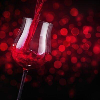 Fototapeta Wino czerwone