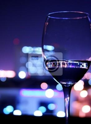 Fototapeta wino oraz butelki szklane