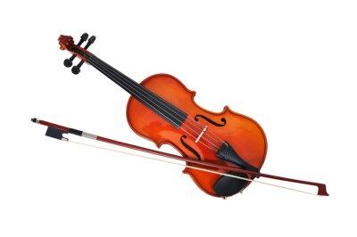 Fototapeta wiolonczela z smyczka