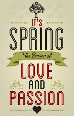 Fototapeta Wiosna Miłość zabawy i rozrywki życzeniami