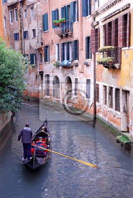 Fototapeta Włochy, Wenecja gondola