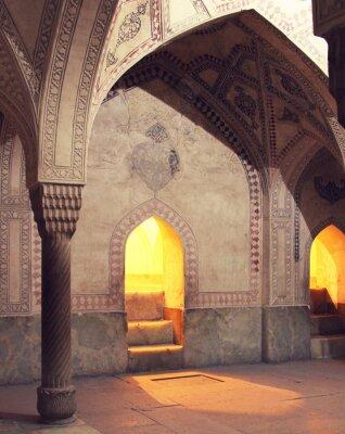 Fototapeta Wnętrza meczetu, Iran
