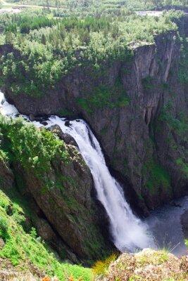 Fototapeta Wodospad Voringfossen, Norwegia